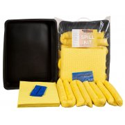 40 Ltr Chemical Spill Kit Includes Flexible Drip Tray