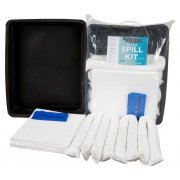 40 Litre Oil & Fuel Only Spill Kit With Flexible Drip Tray