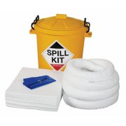 65 Litre Oil & Fuel Spill Kit with Storage Bin