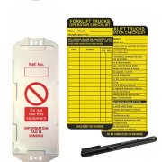Forklift Truck Asset Safety Tags