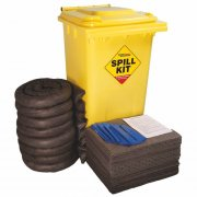 Wheeled Bin - 240 Ltr General Spill Kit