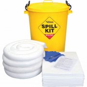 90 Litre Oil & Fuel Spill Kit inc Storage Drum