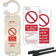 Scaffold Prohibition Tags