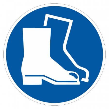 Safety Boots Floor Graphic