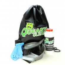 Queasy Clean® - Vomit Clean Up Kit