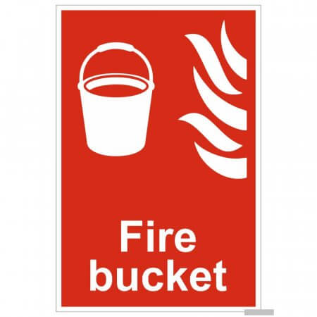 Fire Bucket Location Signs